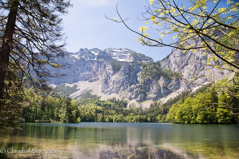 Hinterer See mit Brunnkogel im Hintergrund