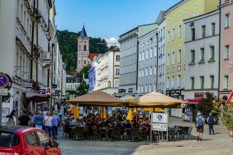 Passau Fussgängerzone
