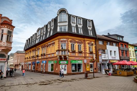 Wunderschöne Fassade